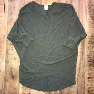 Olive Green Dolman Tunic